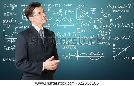 Teacher. - stock photo