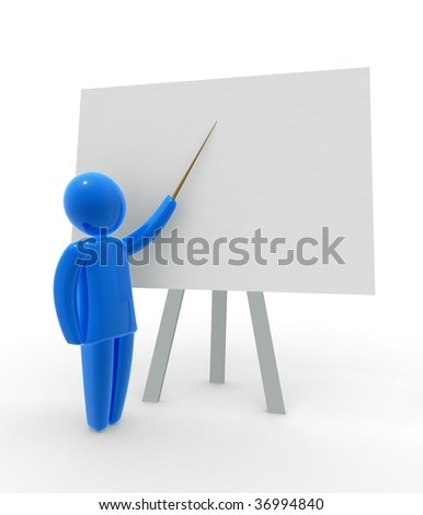 Teacher - stock photo