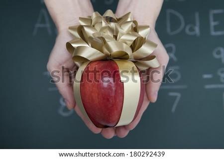 Teacher's Gift - stock photo