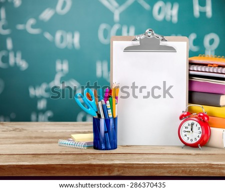 Teacher, schooling, student. - stock photo