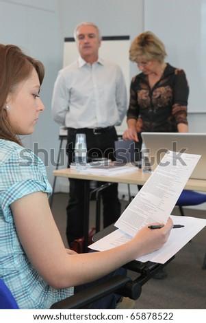 Teachers - stock photo