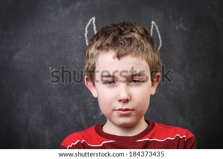 teachers worst nightmare - stock photo