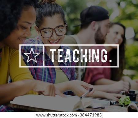 Teaching Teach Teacher Education Improvement Concept - stock photo