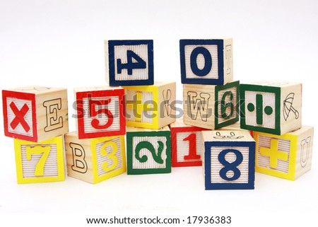 Teaching tools for teaching numbers and simple math