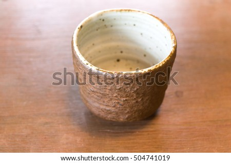 Teacup bowl Made of ceramic (Pottery)