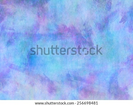Teal Aqua Blue Purple Watercolor Paper Colorful Texture Background  - stock photo