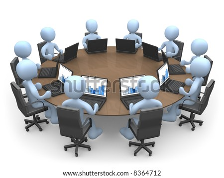 Team Meeting - stock photo