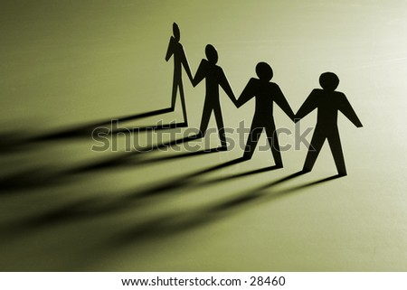 Team or family concept - stock photo