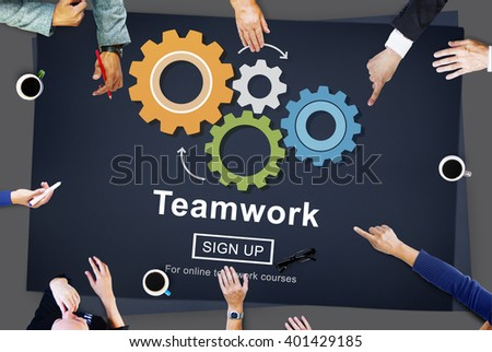 Team Teamwork Collaboration Cooperation Concept