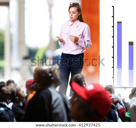 Team Training Listening  Concept - stock photo