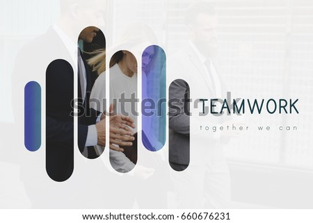 Teamwork Alliance Agreement Company Partners Stock Photo Edit Now