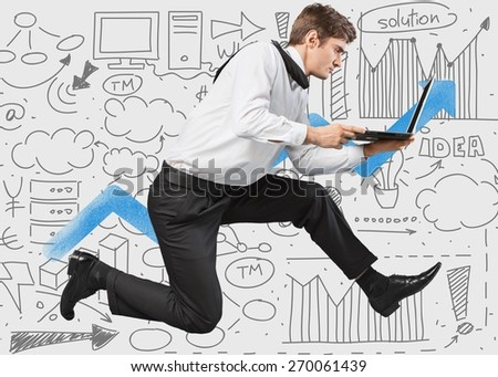 Teamwork. Concept of difficulty in business and teamwork - stock photo