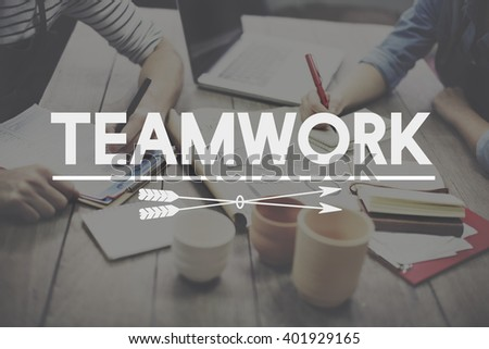 Teamwork Team Building Cooperation Relationship Concept