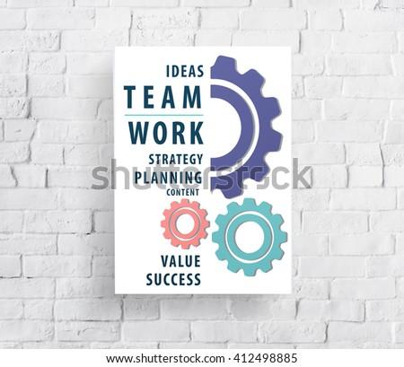 Teamwork Team Union United Cooperation Alliance Concept - stock photo