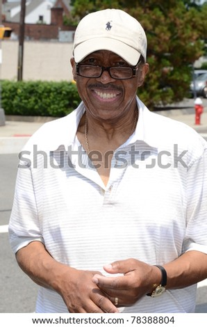 TEANECK, NJ - MAY 30: Singer Ben E. King, best known for his song Stand by Me, is seen on May 30, 2011 back stage at the Cedar Lane Family Festival in Teaneck, NJ.