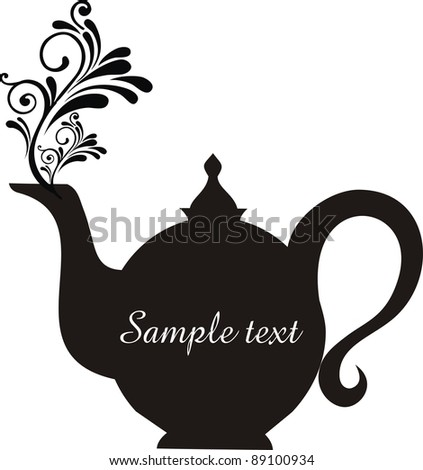 Silhouette Of A Teapot Stock Images, Royalty-Free Images ...