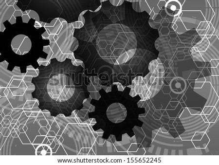 Tech background,Abstract Background - stock photo