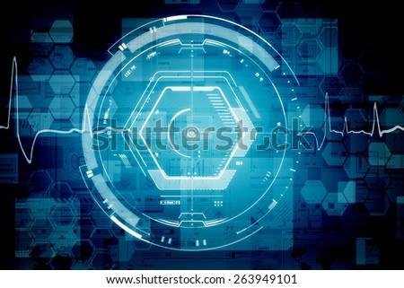 Tech Cubes - stock photo