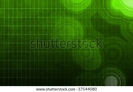 Tech Digital Data Transfer Network as Abstract - stock photo