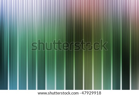 Tech Energy Spectrum With Data Grid Lines - stock photo