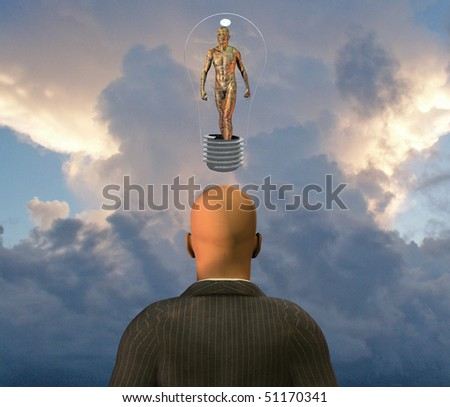 Tech idea - stock photo