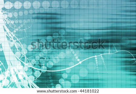 Tech Mechanical Engineering Science as a Art - stock photo