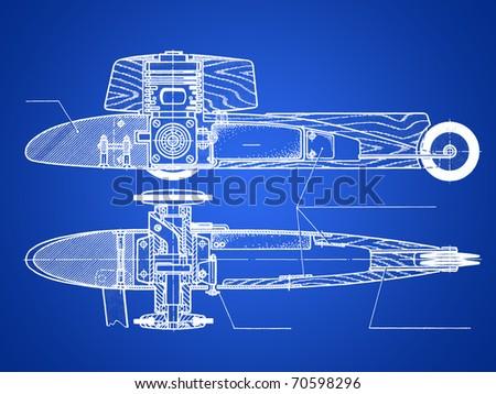 Technical documentation - stock photo