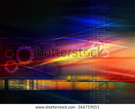 Technical Drawing Background - Abstract