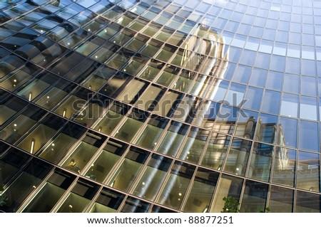 technical facades - stock photo