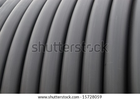 Technical rubber hose texture