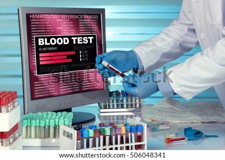 Blood test software
