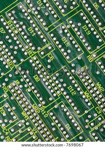 Technological background - stock photo