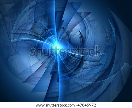 technology abstract background - stock photo