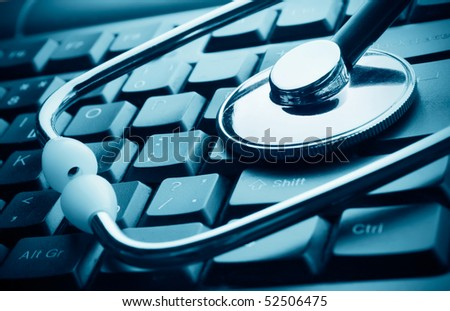 Technology and medicine - stock photo