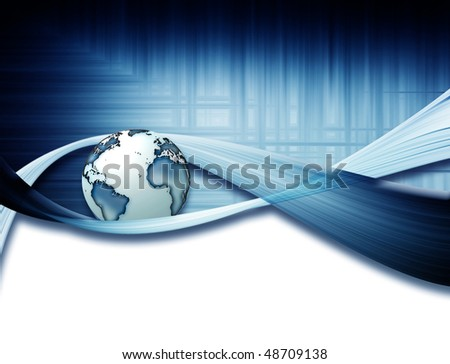 technology backgrounds - stock photo