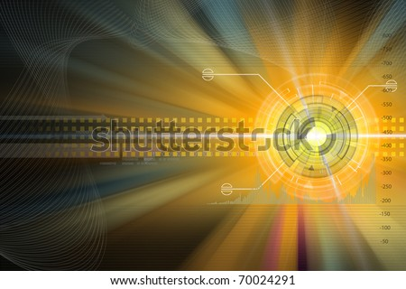 technology concept - stock photo