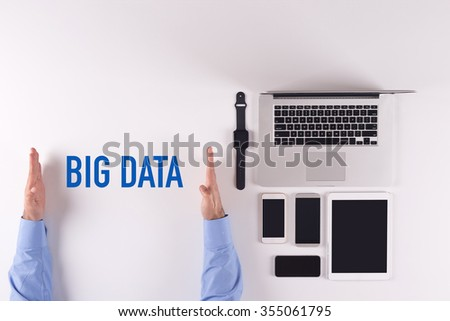 Technology-Electronic Devices-BIG DATA - stock photo