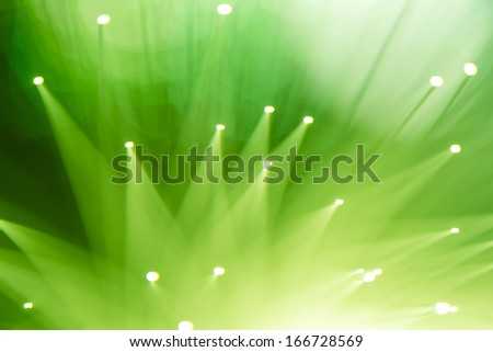 technology fiber optic background - stock photo