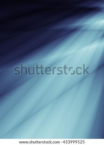 Technology stream energy ray blue background - stock photo