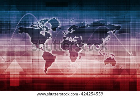Technology Tracking System for Surveillance and Monitoring - stock photo