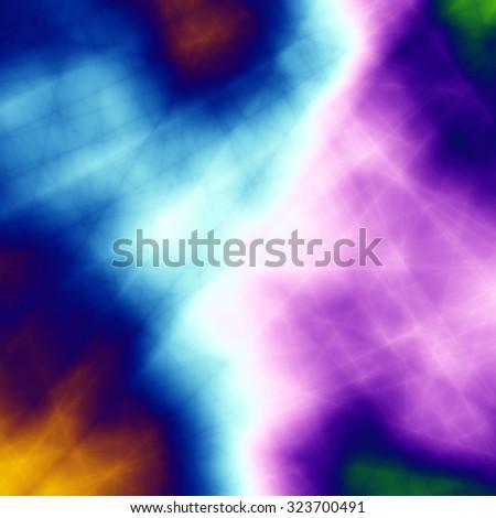 Technology wallpaper burst colorful image background - stock photo
