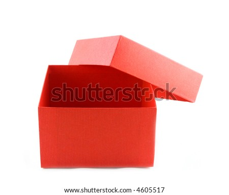 Ted box on white - stock photo