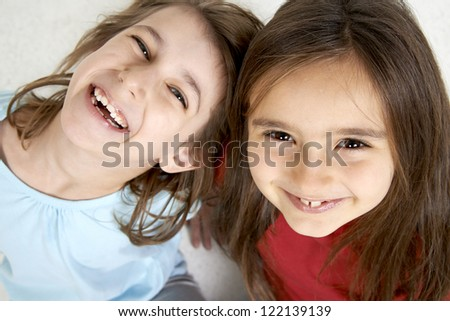 teen agers  portrait - stock photo