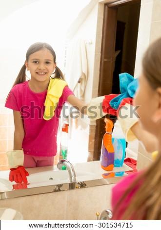 Teens using the bathroom
