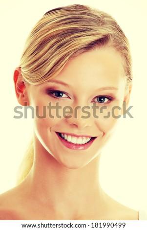 Teen girl portrait - stock photo