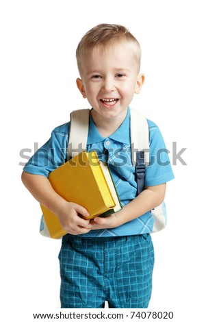 Teen student - stock photo