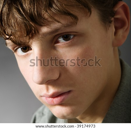 Teenage boy - stock photo