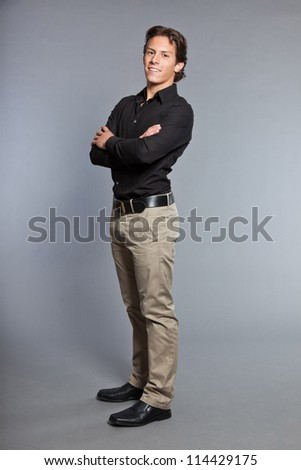 Khaki Pants Stock Photos, Royalty-Free Images & Vectors - Shutterstock