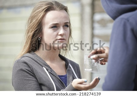 Teen girls and cocaine
