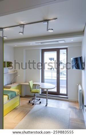 Teenage room - stock photo